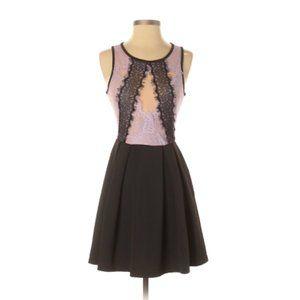 NWT ASOS Lace Cocktail Dress Lavender 4